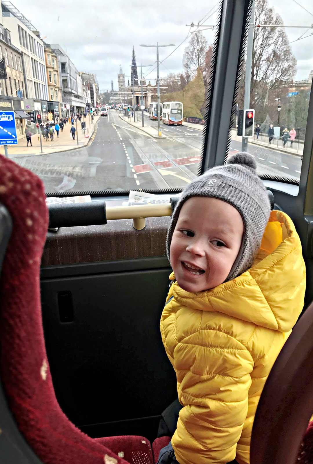 Edinburgh matkustus