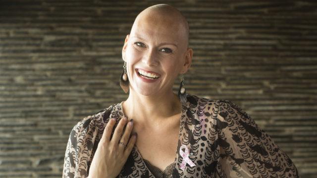Heidi Sohlberg kävi läpi rintasyövän.