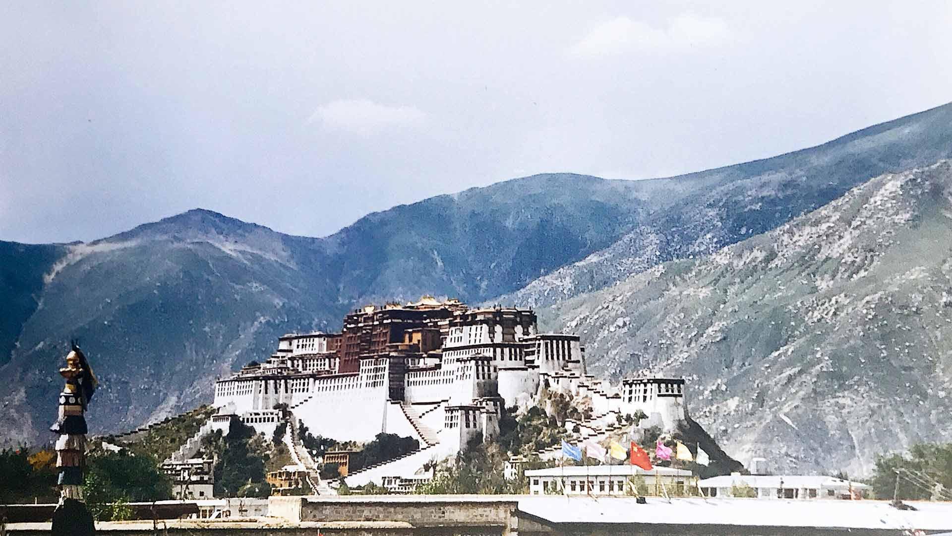 Tiibetin Lhasan Potalan palatsi