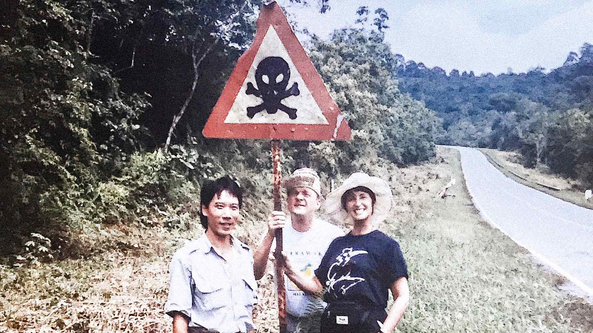 Jorma ja Irene lomalla Malesian osavaltiossa