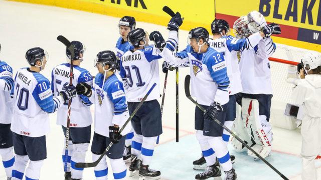 Jääkiekon kolmas maailmanmestaruus tuli Suomeen.