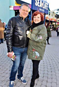 Reijo Kontio ja Nina Tapio