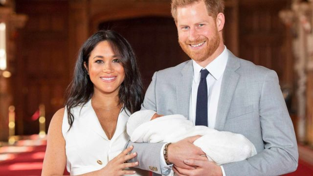 Prinssi Harry, herttuatar Meghan ja Archie-vauva