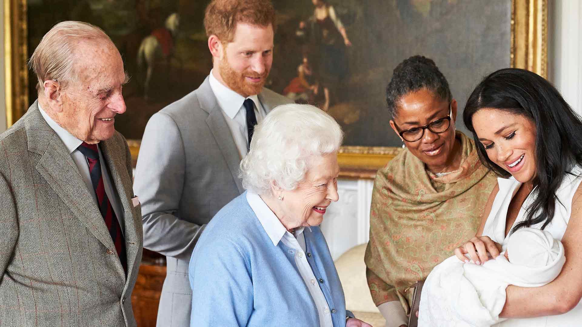 Doria Ragland, kuningatar Elisabet ja prinssi Philip