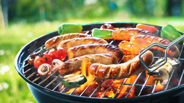 Grillattu ruoka kuuluu kesään.