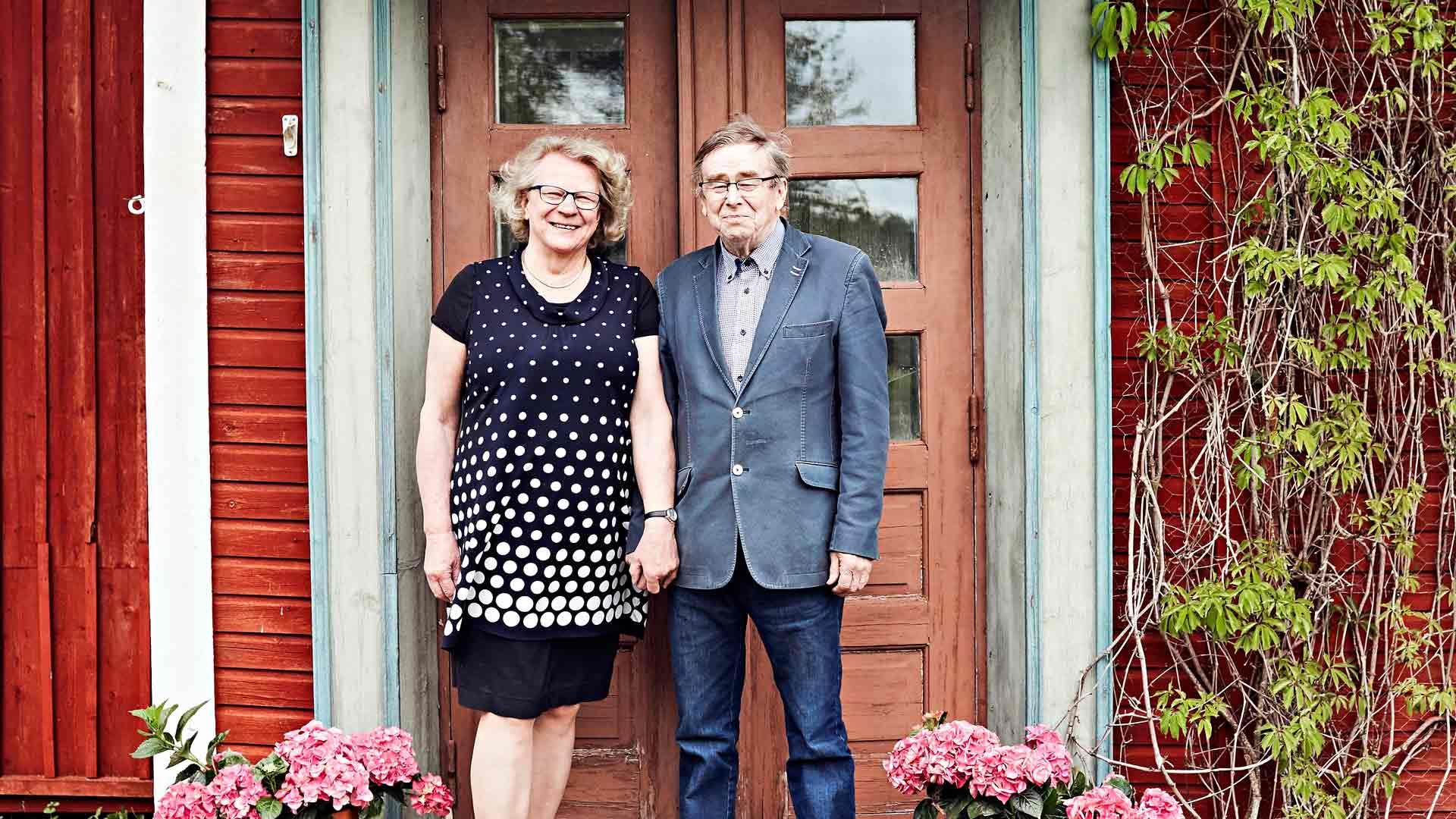 Kultahääpari Marja ja Kalle