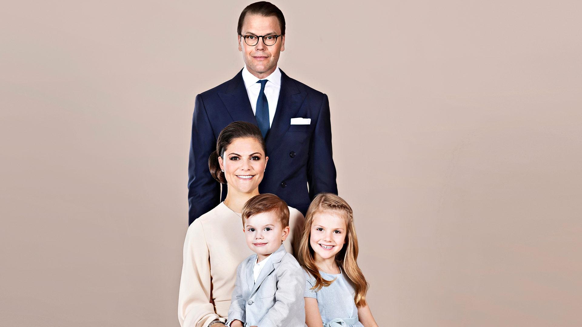 Ruotsin seuraava kuninkaallinen perhe.
