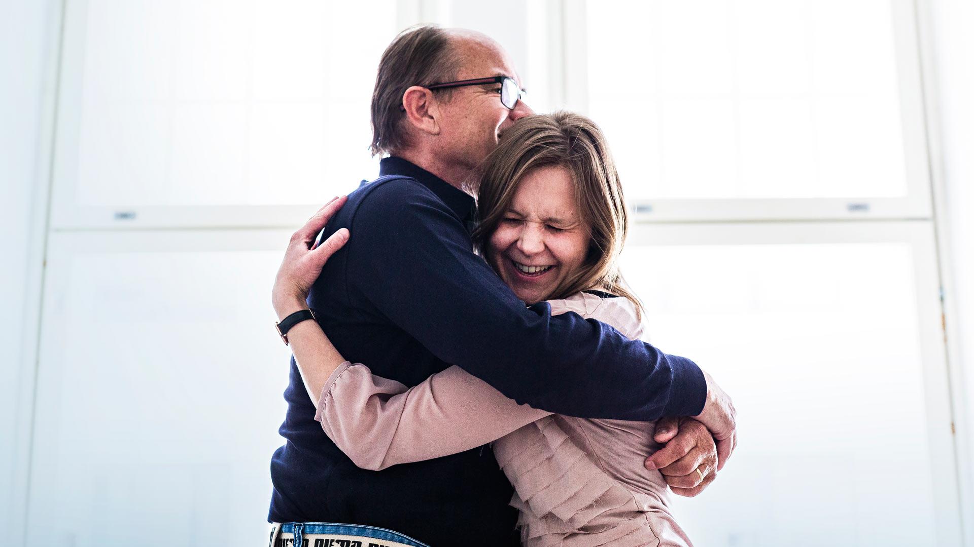 Hannu Turunen ja Marjaana Nurmela