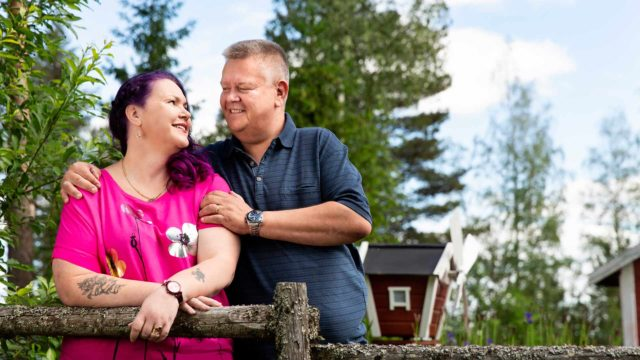 Heli ja Aki Palsanmäki