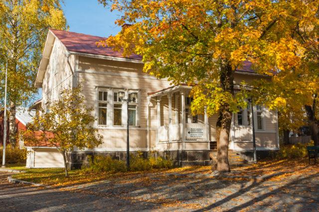 Radiomuseo sijaitsee Kouvolan Kaunisnurmella.