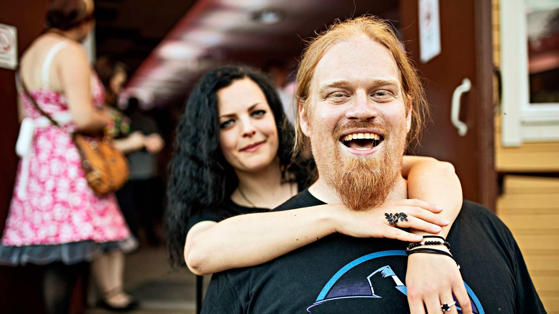 Sarah Domann ja Gunnar Müller