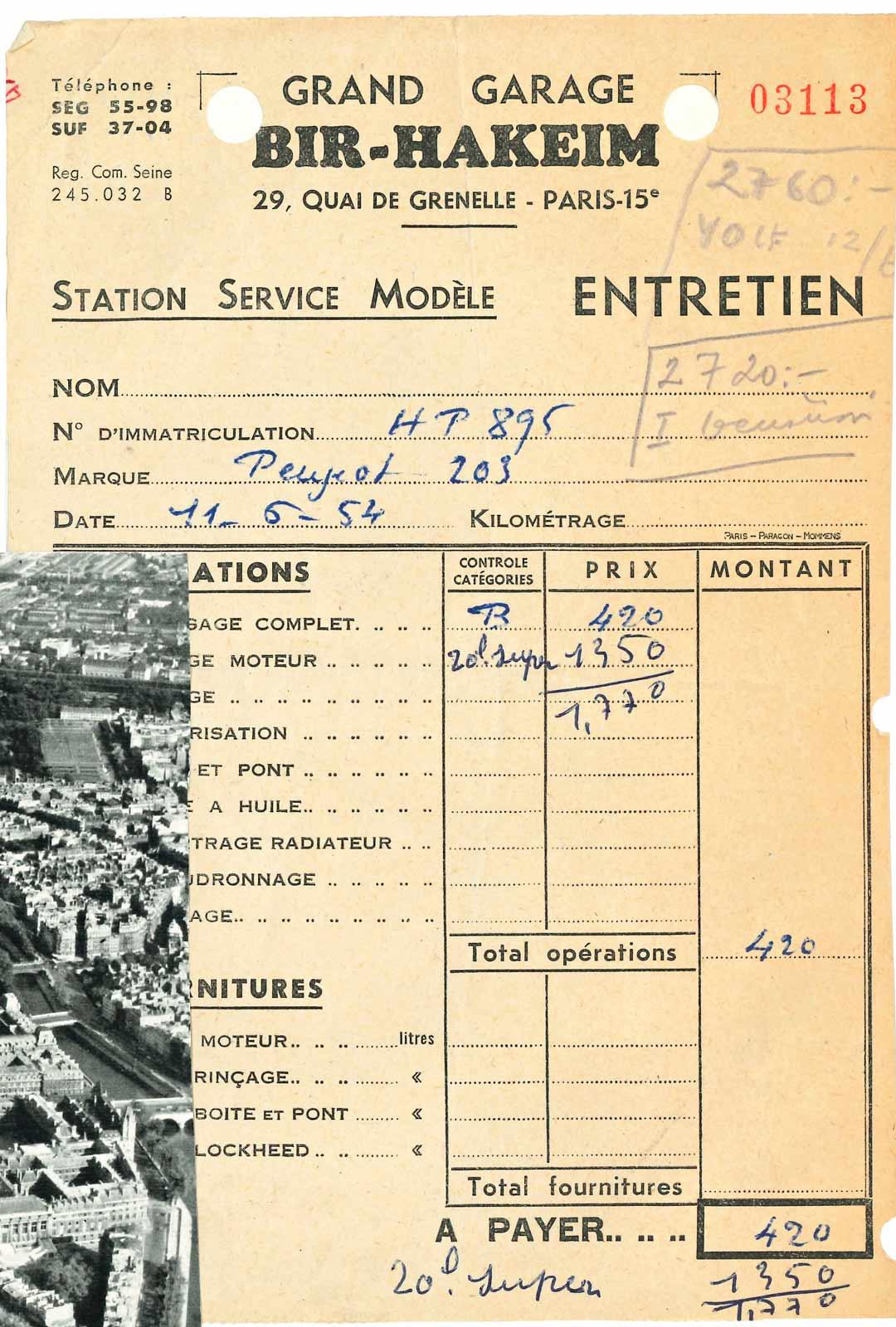 Ranskassa kotimaista Peugeotia oli helppo huollattaa