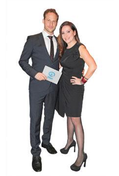 Lorenz Backman ja Jenni Pääskysaari