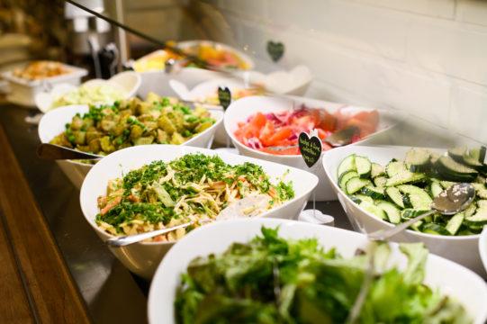Mimosan Aito -ravintolassa herkutellaan kasvisruualla.