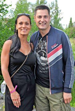 Virve Teuho-Markkola ja Tomi Markkola