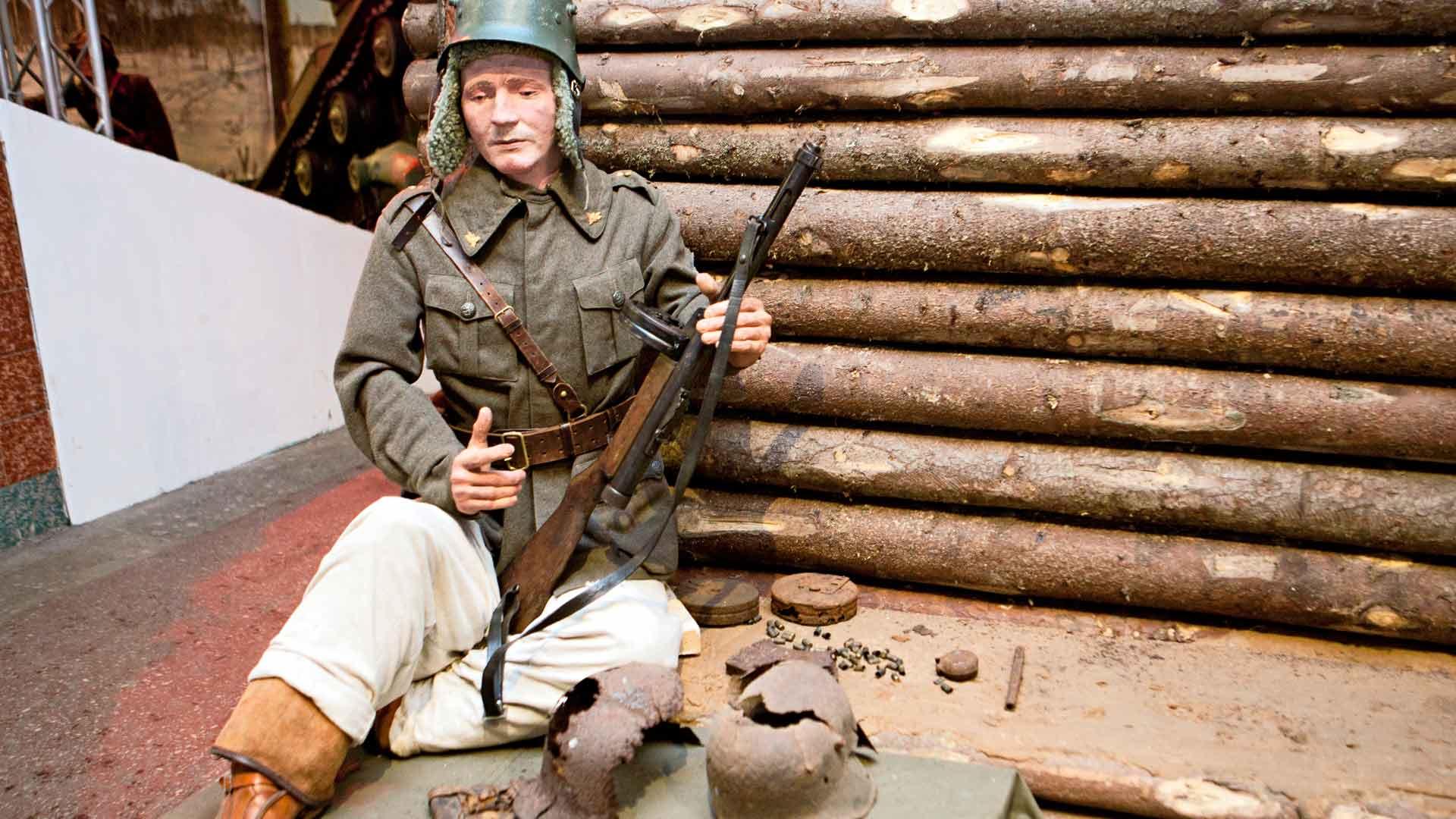 Suomalaisen sotilaan varustus