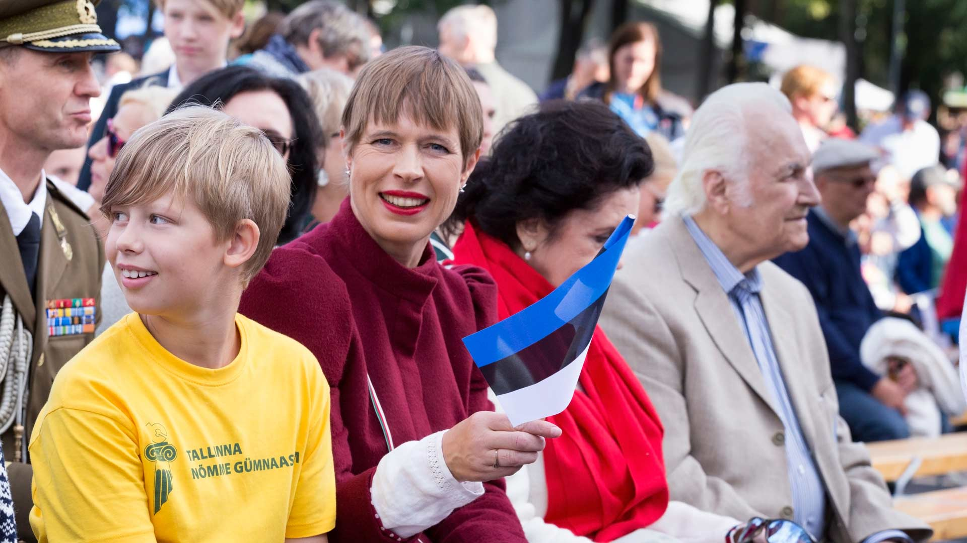 Presidentti Kersti Kaljulaid