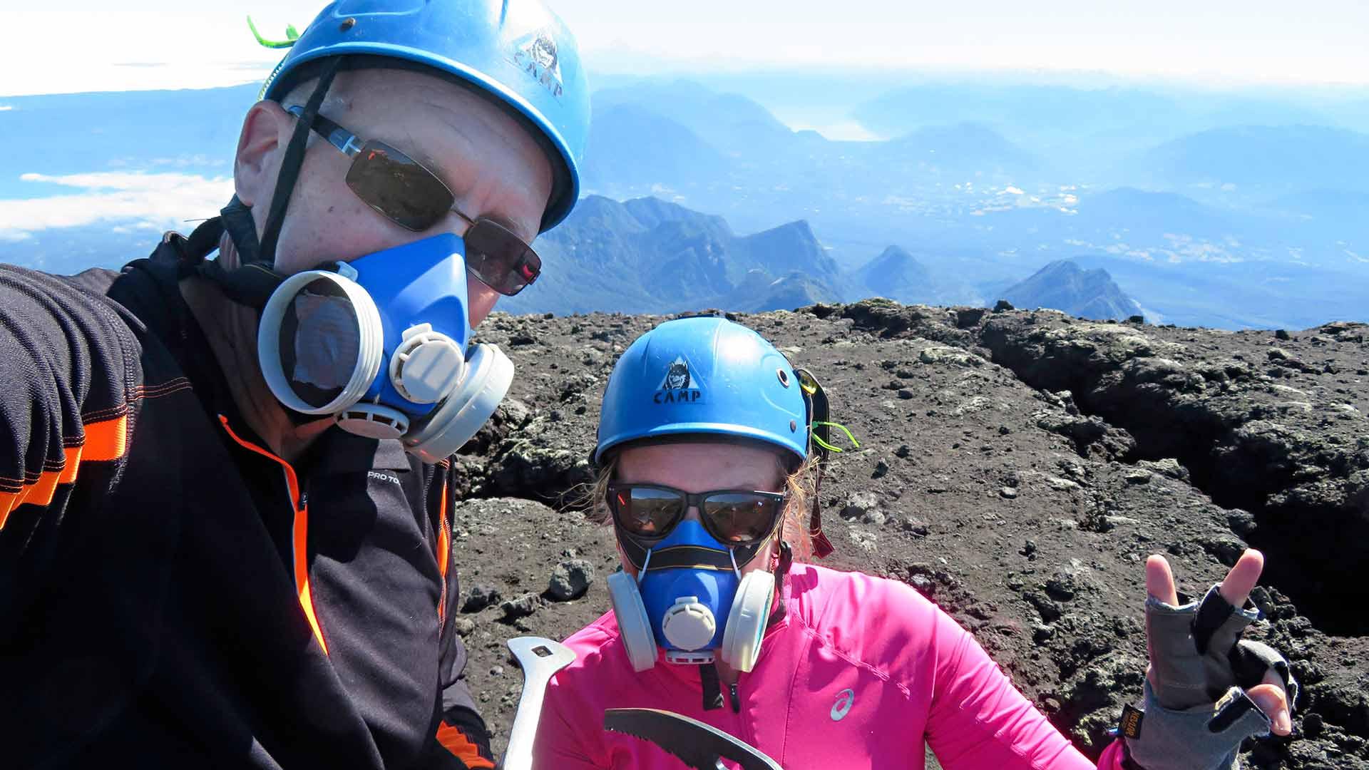 Chilen Villarrica-tulivuori