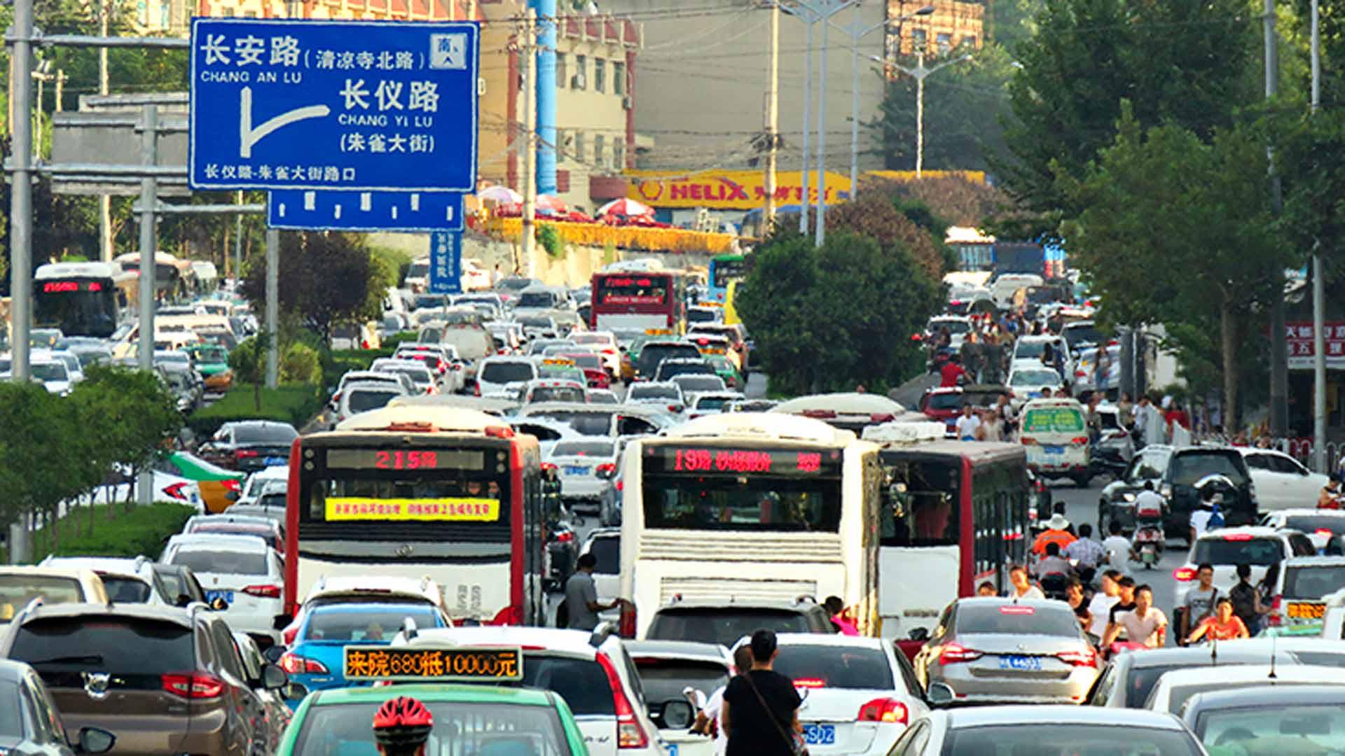 Xi'anin liikenne