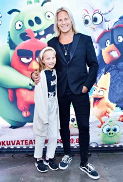 Sami Kuronen ja Oona-tytär