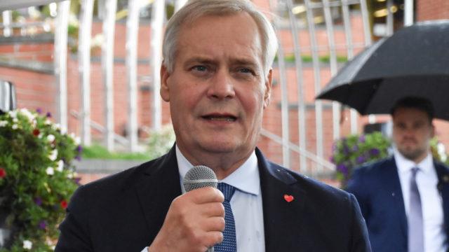 Antti Rinne Koivukylässä