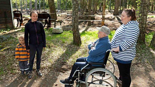 Harry Hurmerinta ja Susanna Väisänen
