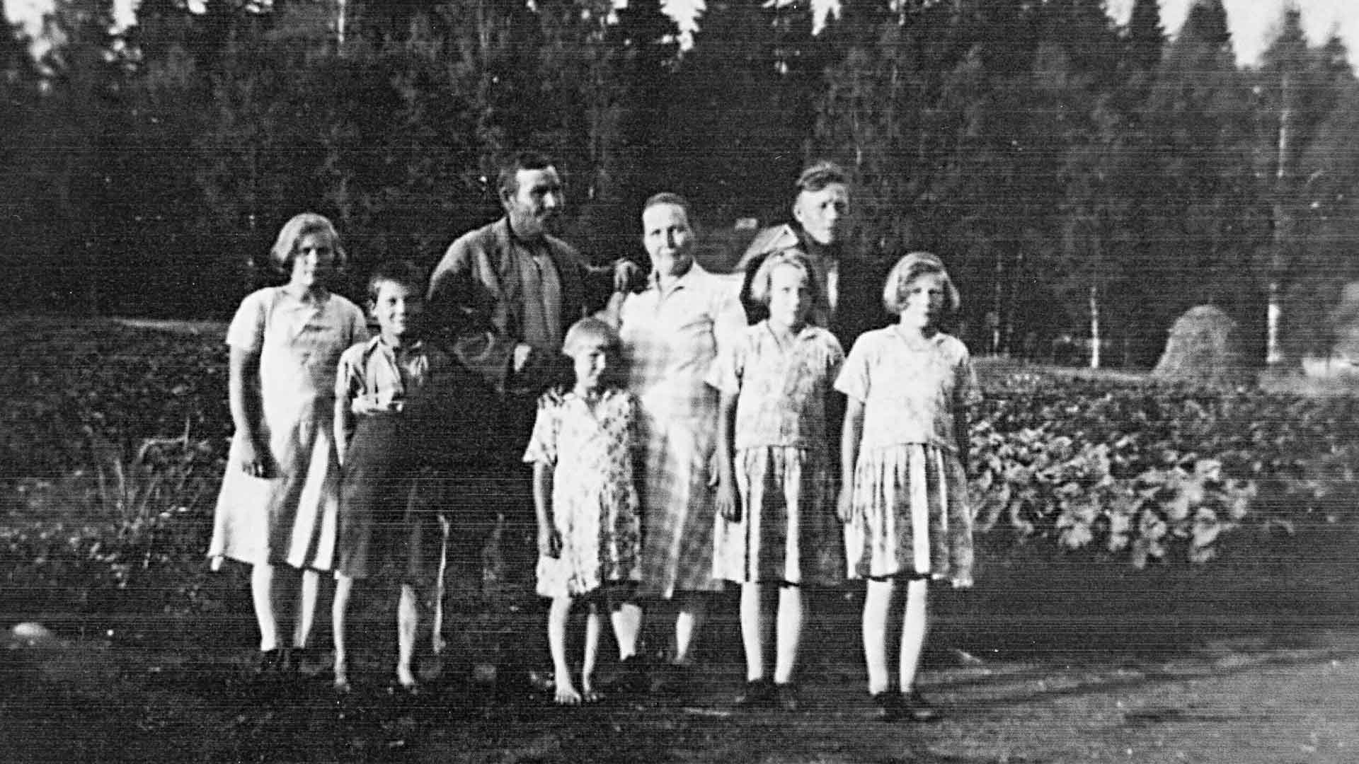 Harry Hurmerinta ja lapsuudenperhe