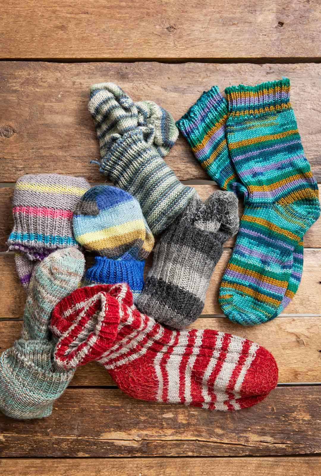 Hyppe kertoo käyttävänsä villasukkia ympäri vuoden.