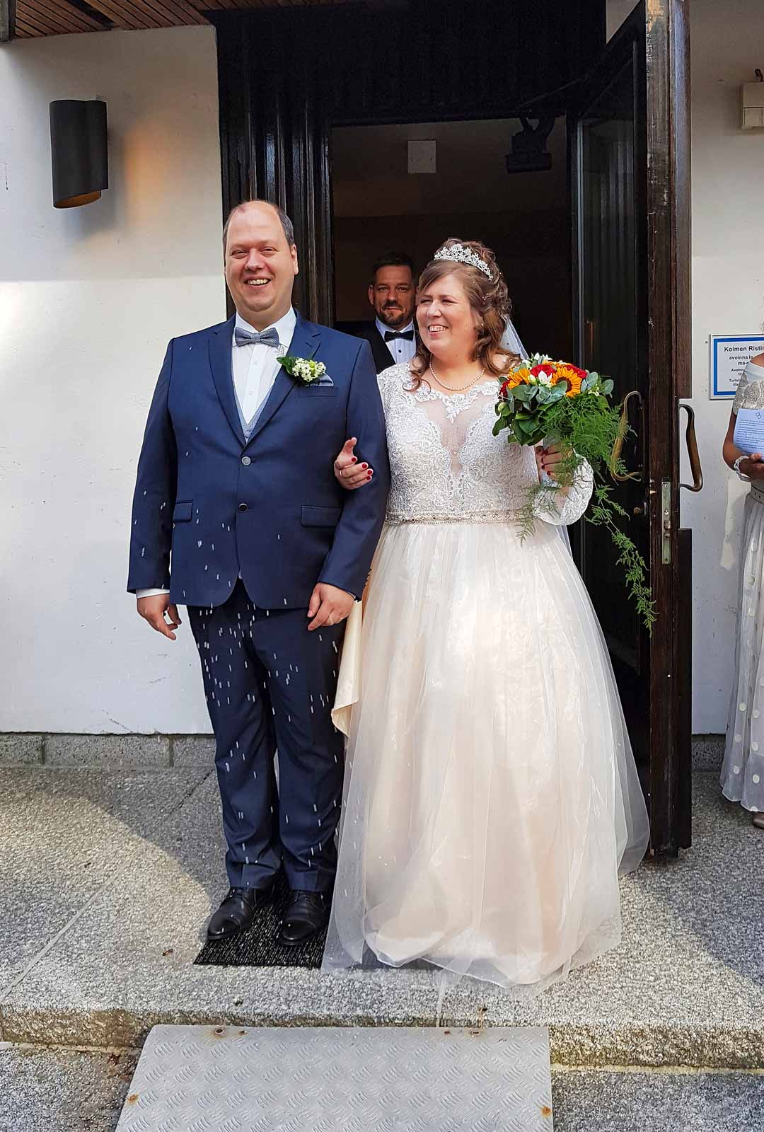 Jonna ja Christian Heynke