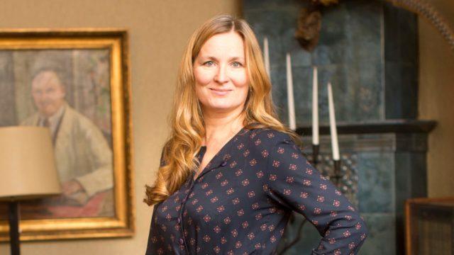 Kirjailija Katja Kallio