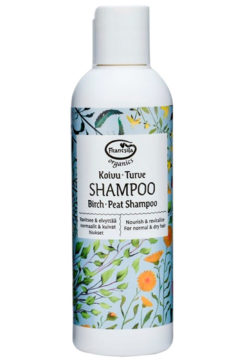 Frantsilan koivua ja turvetta sisältävä shampoo