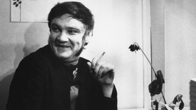 Viihdetaiteilija Jukka Virtanen marraskuussa 1969.