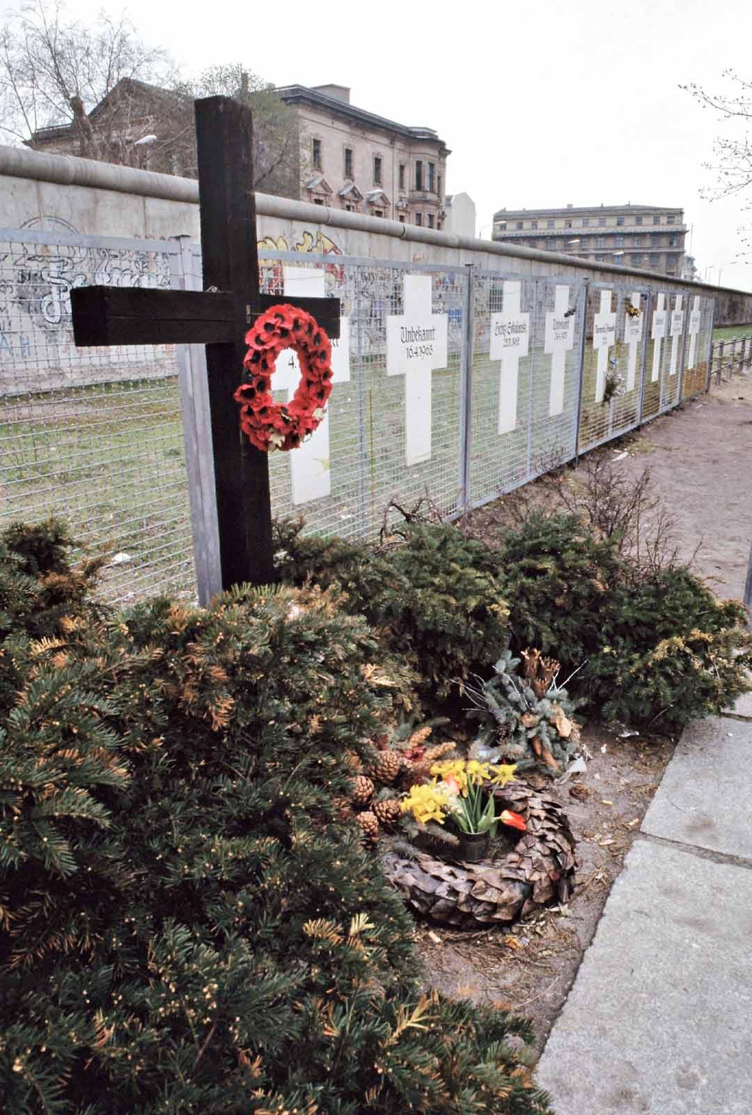 Berliinin muurin uhrit