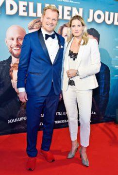 Antti Luusuaniemi ja Lili Ermezei