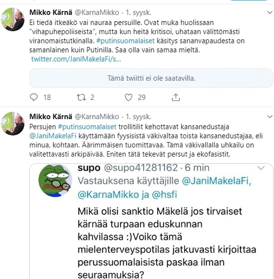 Mikko Kärnän twiitit