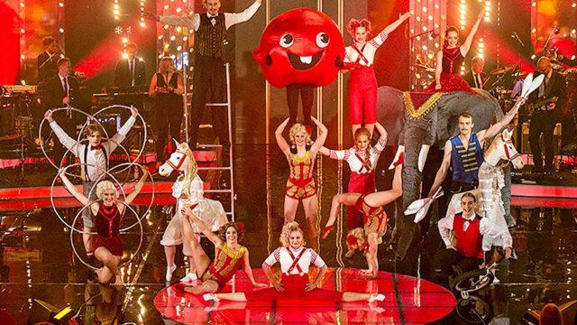 Nenäpäivä sirkuksessa