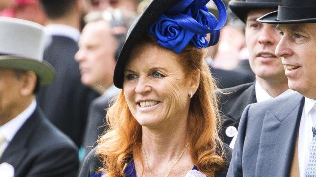 Kohuherttuatar Sarah Ferguson täyttää 60 vuotta.