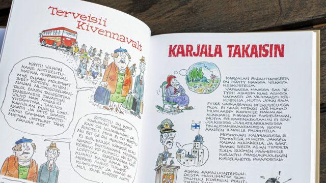 Titun pilapiirrokset kertoivat suomalaisesta sielunmaisemasta.