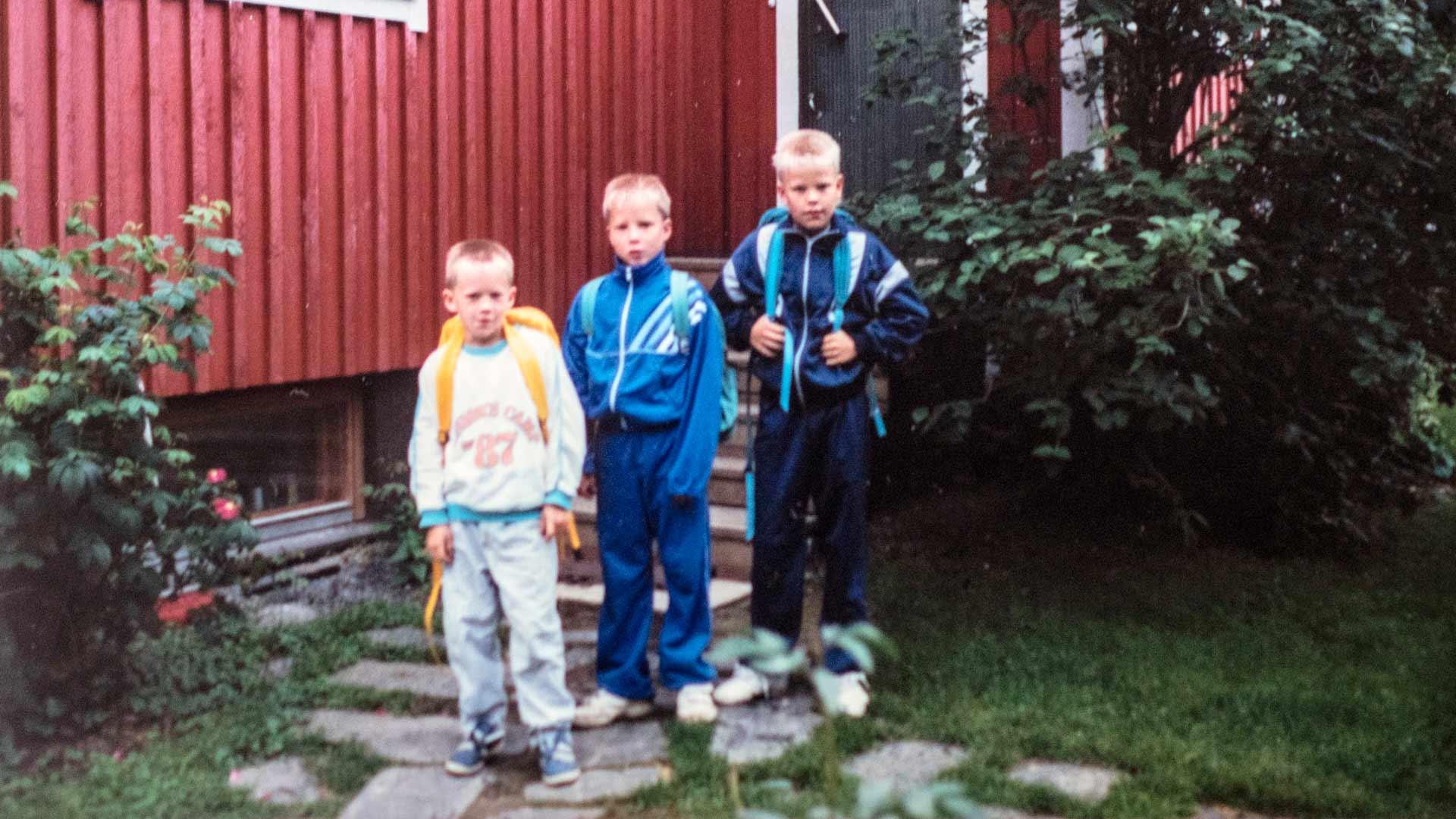 Antti (oik.) on vanhin Rantakarin veljeksistä.