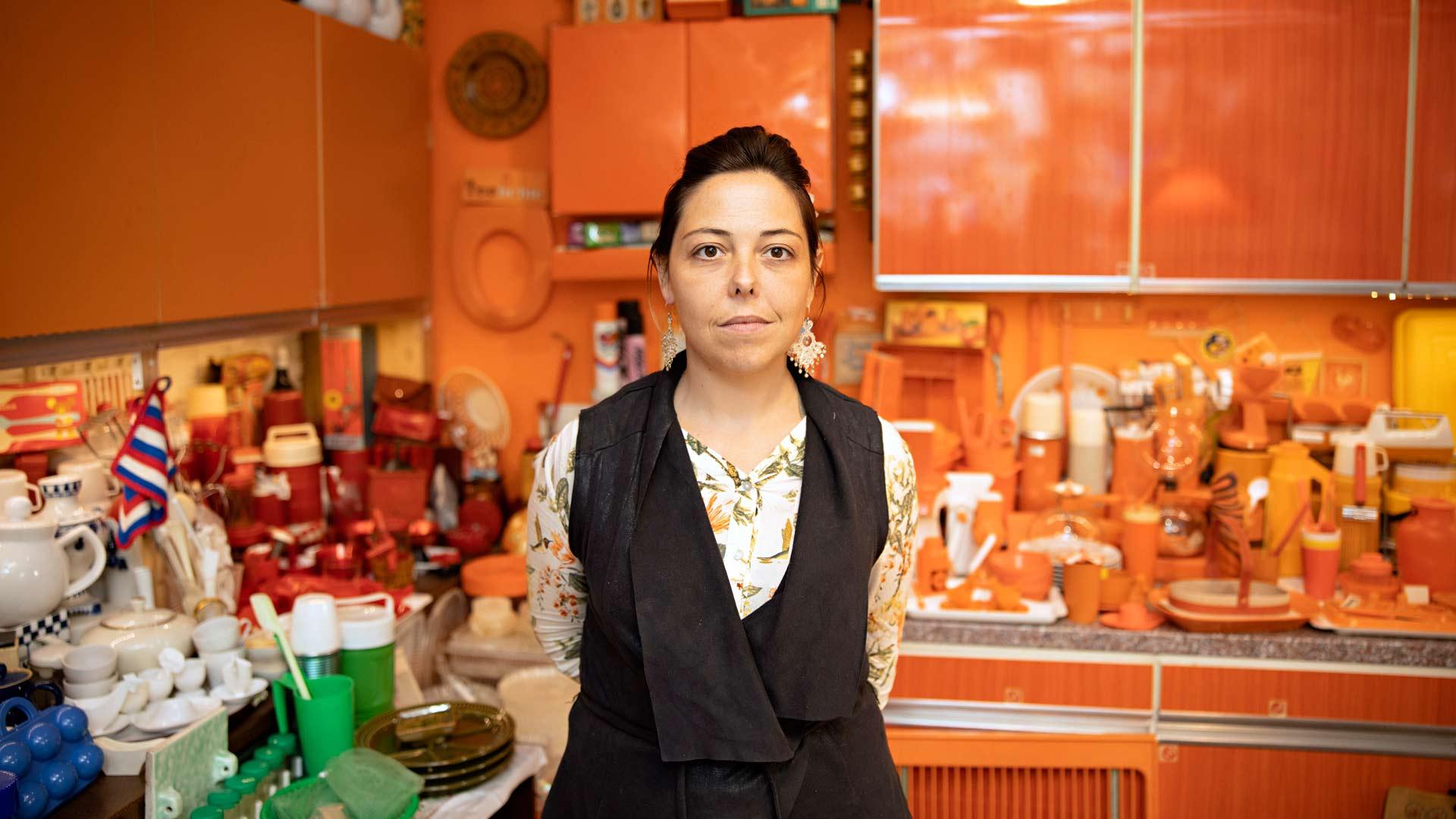 Veb Orangen myyjäLucia Corcuera Palet
