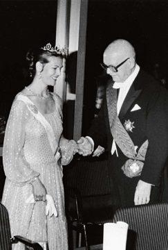 Kuningatar Silvia ja Urho Kekkonen
