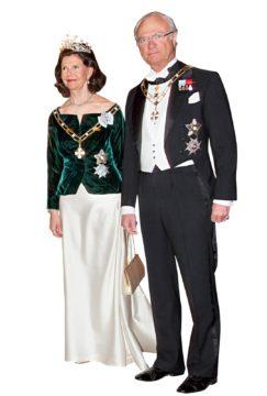 Kuningatar Silvia ja kuningas Kaarle XVI Kustaa