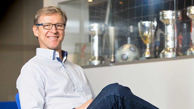 Markku Kanerva , jalkapallon A-maajoukkueen päävalmentaja