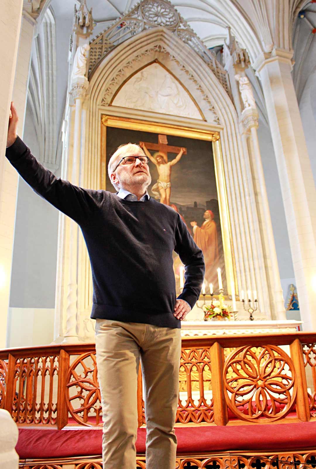 Tukholmassa asuva Rauli Lehtonen käy työnsä vuoksi edelleen säännöllisesti Tallinnassa. Toisinaan askeleet johdattuvat Olevisten kirkkoon. – Joskus tuntuu siltä, että ne kokemukset kantavat edelleen, Lehtonen toteaa.