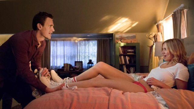 Näyttelijät Jake Segel ja Cameron Diaz tekivät yhteistyötä jo Bad Teacher -komediassa.