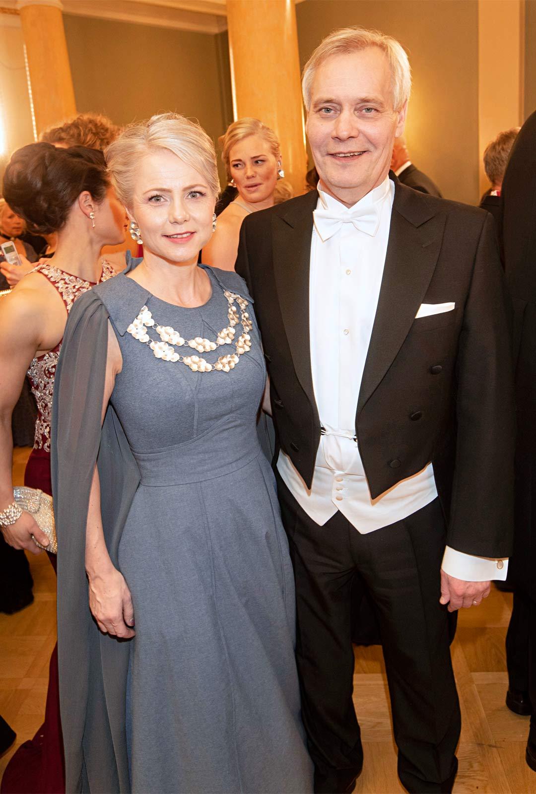 """""""Emme ole juuri koskaan käyneet jatkoilla, enkä usko, että teemme tänäkään vuonna poikkeusta"""", kansanedustaja Antti Rinne ja vaimo Heta Ravolainen-Rinne kertoivat."""