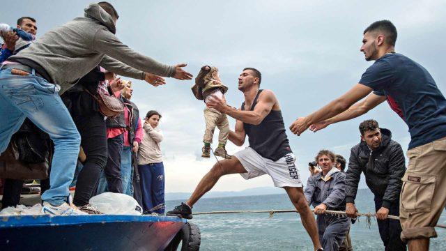 Vuoden 2015 pakolaisaalto kosketti tanskalaista Salaam Aldeenia.