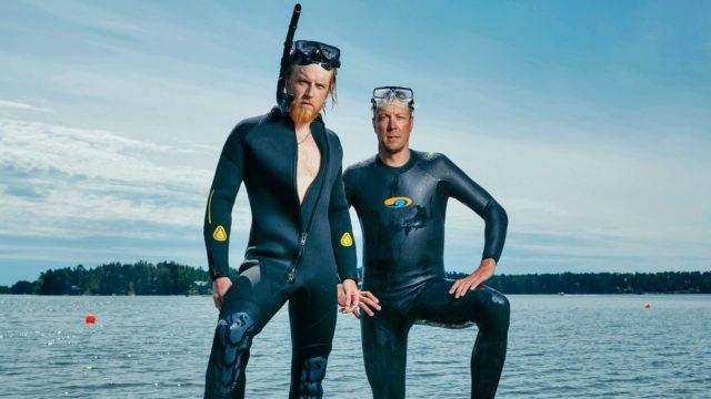 Tom ja Peltsiovat tehneet rennon sarjan Itämerestä.