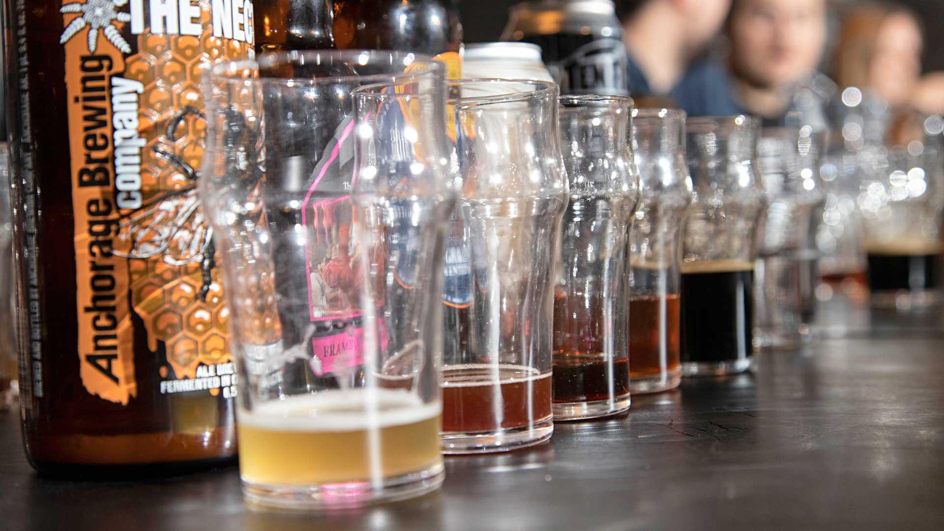 Jo väri paljastaa, että oluiden välillä on merkittäviä eroja.