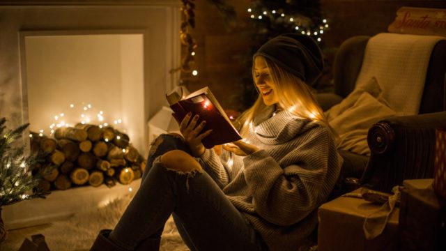 Käytetty kirja kelpaa joululahjaksi.